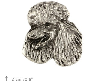 Poodle, dog pin, limited edition, ArtDog