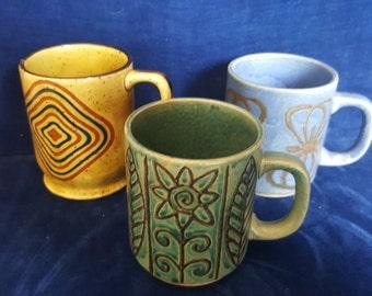 lot of 3 MCM coffee mugs