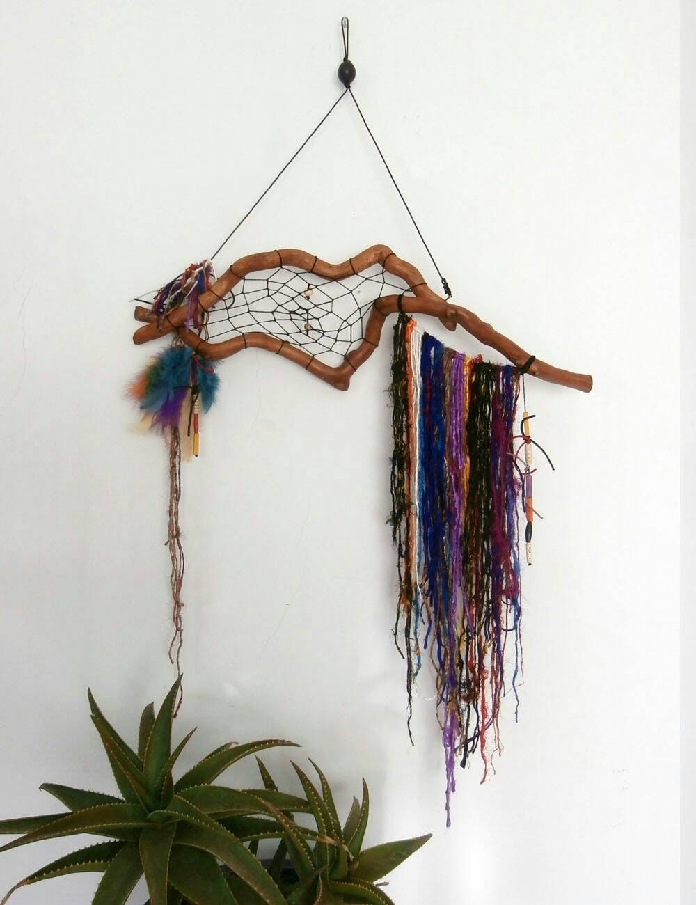 Wall Decorations Boho : Boho decor rustic gypsy wall art bohemian