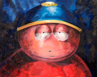 Cartman from South Park (ART PRINT)