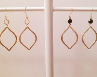 Crystal & Marquis Earrings