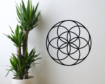 Vinyl Wall Decal - Seed Of Life