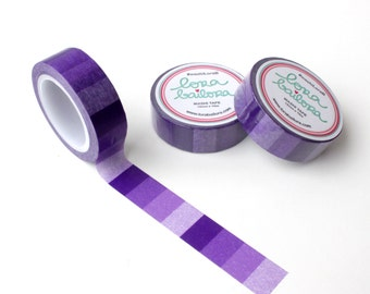 Washi tape Ombre Violet 15mm x 10m