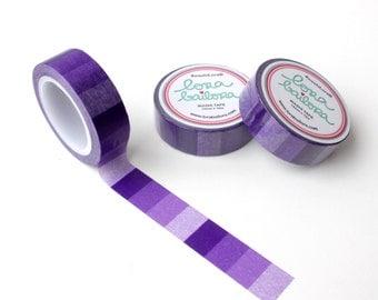 Washi tape Degradado Violeta 15mm x 10m