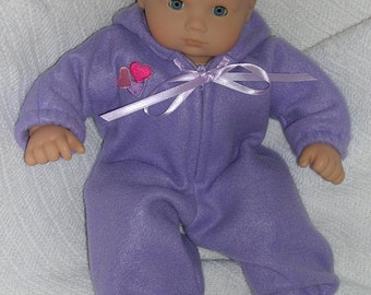 Hooded Snowsuit for Bitty Baby Doll
