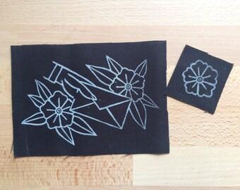 Handmade Canvas Patch Set - Dear John Letter