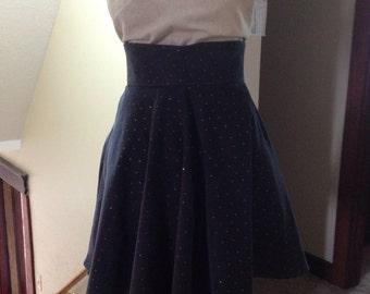 Highwaisted full skirt