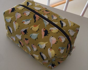 Perfectly Imperfect Travel Box Pouch - A Little Bird Told Me