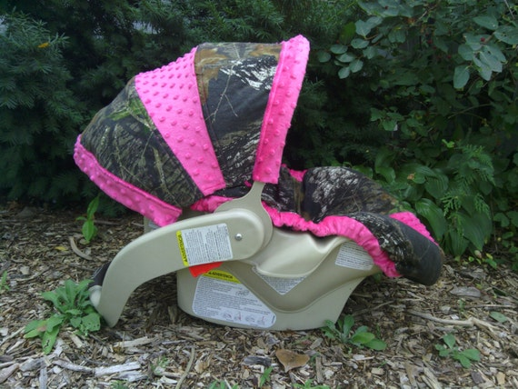 Camo Infant Car Seat Cover Mossy Oak Fabric By