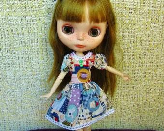 Dress for Blythe, Pullip (Tea Time)