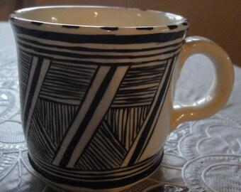 Art Pottery Mug/ Makers Mark