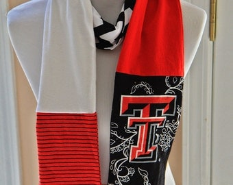 Texas Tech Raiders Scarf, Game Day, College, Accessories