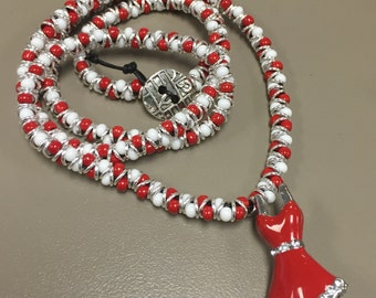 Little Red Dress Necklace