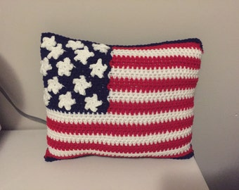 Anerican Flag Pillow