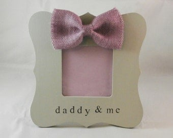 New Daddy and me picture frame, New dad gifts, Fathers day gift for dad from daughter baby son
