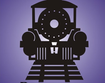 Train decal, boys peresonalized