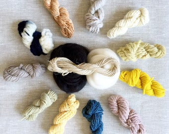 Naturally Dyed Weavers Bundle