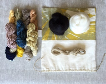 Limited Edition Naturally Dyed Weavers Bundle No.1