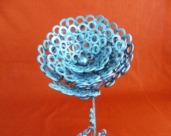 Steel rose, 20 cm height