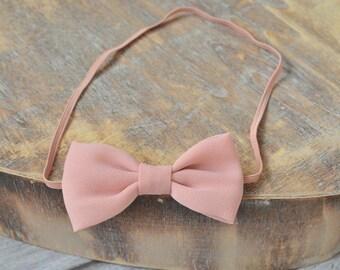 Rose Bow Headband