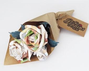 Get Well Soon Paper Flower Bouquet