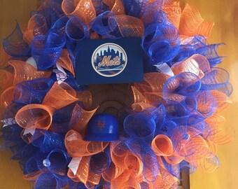 Mets wreath