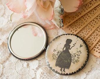 Pocket Mirror - Mirror - Miss Shadow - Garden