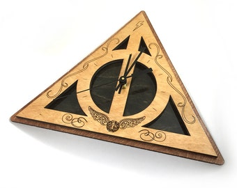 Harry Potter Deathly Hallows Clock