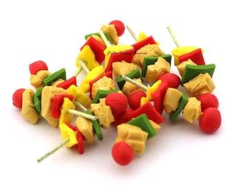 Dolls House Miniature food-Kebab