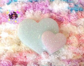 Kawaii Doki Doki Heart Hair Clip-MTO