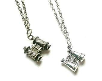 Binocular Necklace // Explorer // Wanderlust Jewelry // Travel Gift