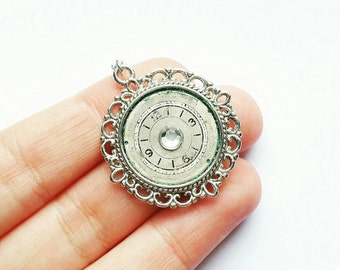 Watch Dial Necklace // Steampunk Jewelry // Steampunk Necklace // Steampunk Watch Part Necklace