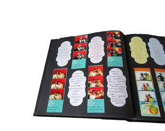 Photo Album Signature Stickers 2.375 in x 4.75 in / Ultimate Sampler 20 pages / 120 stickers