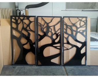 3Pk 1840x940 Decorative Panel - Heavy Framed Tree