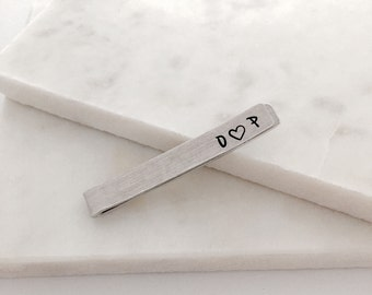 Personalised Tie Slide | Wedding Gift | Wedding Keepsake | Wedding Party Present | Groom | Usher | Groomsmen | Father of the Bride