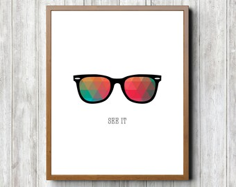 Glasses 8 x 10 Printable