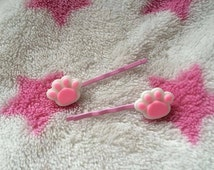 Pawprints On Your Heart Paw Hair Pins