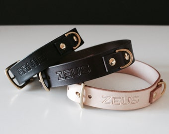 Dog Collar Personalized Customized