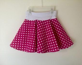 Circle skirt with yoga waistband