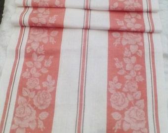Vintage Linen towel.Kitchen towel. Dish towel. Tea towel.Organic soviet linen