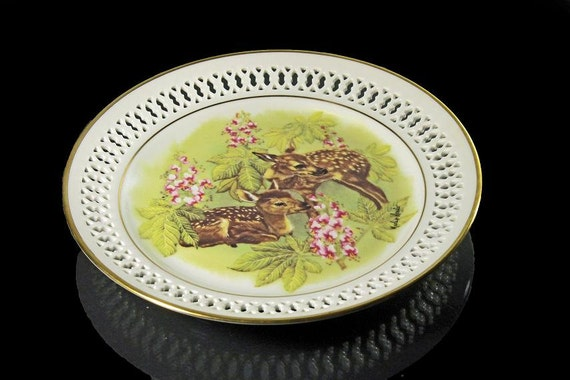 Mother's Day Plate, Bing & Grondahl, New Generation, The Fawns