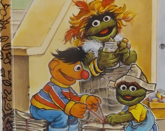 From Trash to Treasure: A Sesame Street/Golden Book by Liza Alexander, Illustrated by Joe Ewers, 1993