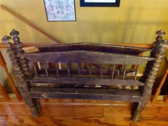 creative wooden spindle bed frame bed