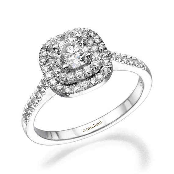 Diamond Engagement Ring Diamond Ring Engagement Ring 14k