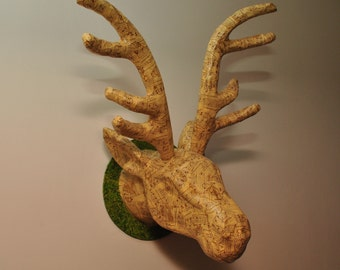 Decopatch Stag's Head Kit - includes all you need