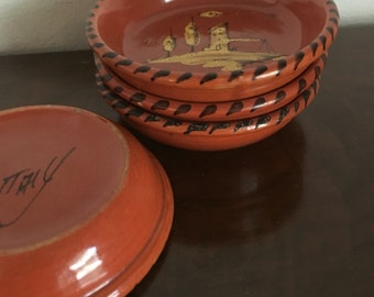Vintage coasters made in Italy