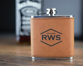 leather flask, gift, best man, personalized gift, personalized groomsmen flask, wedding gift, bridesmaid gift, flasks, rawhide