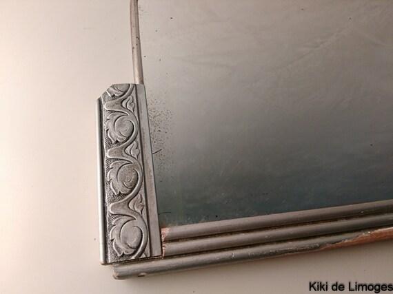 Items similar to original art nouveau mirror silver for Miroir art nouveau