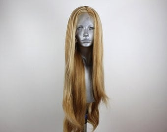 Willow- 613 Blonde Highlighted Strawberry Blonde Luxury Full Lace Wig