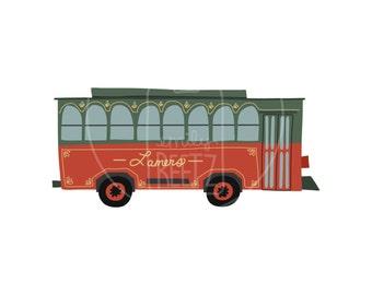 Trolley - Iconic Appleton - Art Print